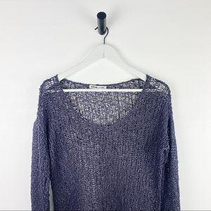 Helmut Lang Boat-Neck Knit Pullover Sweater